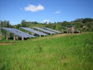 ökologischen Rehabilitation - Solaranlage